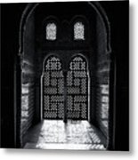 Ornate Alhambra Window Metal Print