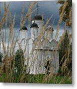 Orthodox Church In Mikulino Metal Print