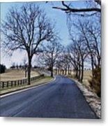 Osage County Road Metal Print