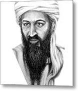 Osama Bin Laden Metal Print