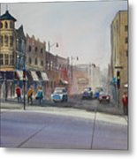 Oshkosh - Main Street Metal Print