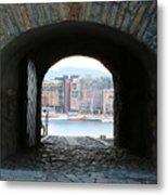 Oslo Castle Archway Metal Print by Carol Groenen