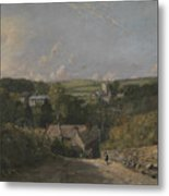 Osmington Village Metal Print