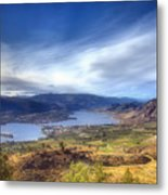 Osoyoos Lake Metal Print