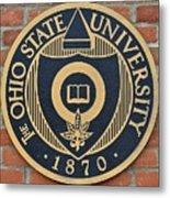 Osu Established Eighteen Seventy Metal Print