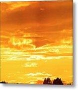 Oswego Sunset 5 Metal Print