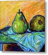 Other Pears Metal Print