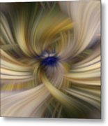 Other Side Of Blue Metal Print