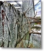 Other Side Of Watershed Dam3 Metal Print