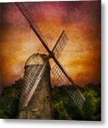 Other - Windmill Metal Print by Mike Savad