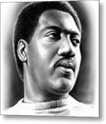 Otis Redding Metal Print