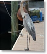 Otis..dock Of The Bay Metal Print