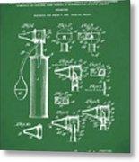 Otoscope Patent 1927 Green Metal Print