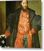 Ottaviano Grimani. Procurator Of San Marco Metal Print
