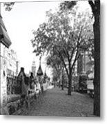 Ottawa Sidewalk Metal Print