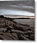 Otter Cliffs Dawn #5 Metal Print