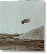 Otto Lilienthal Gliding Experiment Metal Print