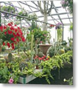 Ott's Greenhouse  Schwenksville Pennsylvania Usa Metal Print