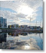 Oulu From The Sea 2 Metal Print