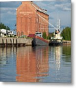 Oulu From The Sea 3 Metal Print