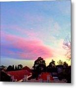 Our Cloud Sunset 12-08 Metal Print
