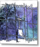 Our Father Berry Blues 3 Dimensional Metal Print