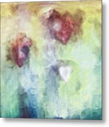 Our Hearts Metal Print