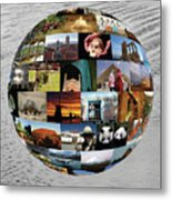 Our Heritage Our Place Metal Print