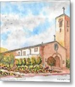 Our Lady Of Assumption Catholic Church, Claremont, California Metal Print