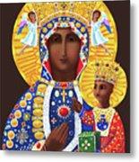 Our Lady Of Czestochowa - Mmcze Metal Print
