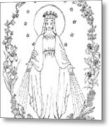 Our Lady Of Grace Metal Print