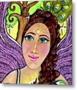 Our Lady Of Self-actualization Metal Print