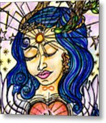Our Lady Of Self Blessing Metal Print