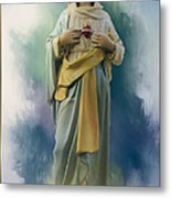Our Lady Of The Immaculate Heart Metal Print