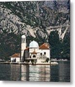 Our Lady Of The Rocks Church Metal Print
