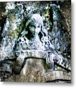Our Little Angel Stone Carving Horizontal Metal Print