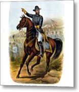 Our Old Commander - General Grant Metal Print