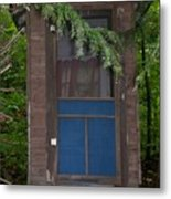 Our Outhouse - Photograph Metal Print