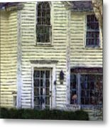 Our Town's Witch House Metal Print