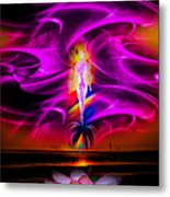 Our World Is A Magic - Wellness Metal Print