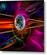 Our World Of Mystery - Airmail Metal Print
