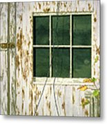Out Building Window Metal Print
