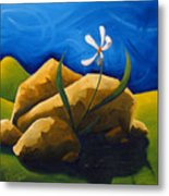 Out From Under A Rock Metal Print
