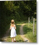 Out In The Country Metal Print