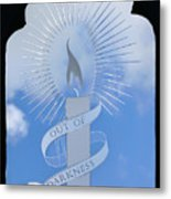 Out Of Darkness Metal Print