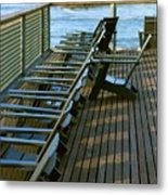 Out Of Line Metal Print
