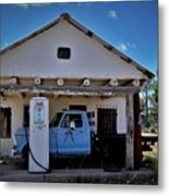 Out Of Service New Mexico Gas Station Metal Print