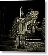 Out Of Shadow Metal Print