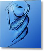 Out Of The Blue Aventurine Metal Print