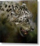 Out Of The Brush Metal Print